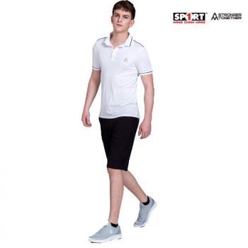 Áo polo AM nam PLV01 màu trắng
